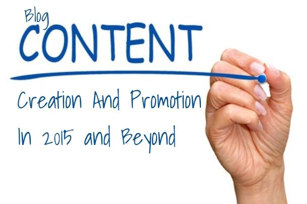Blog Content Creation And Promotion