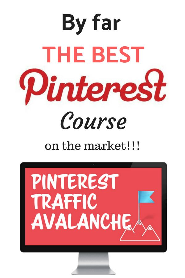 Pinterest Traffic Avalanche Review - Why It's The Top Pinterest Course Online