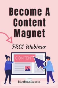 FREE Webinar - How To Get Free Content For Your Blog Without Writing A Word