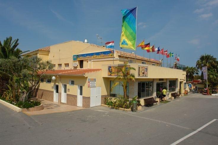 Restaurante del Camping La Marina de Alicante