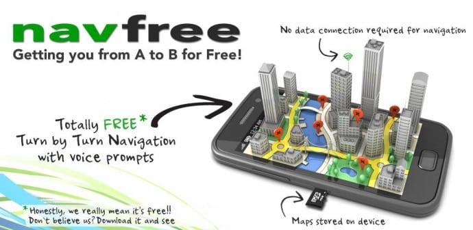 Navfree navegador GPS Android