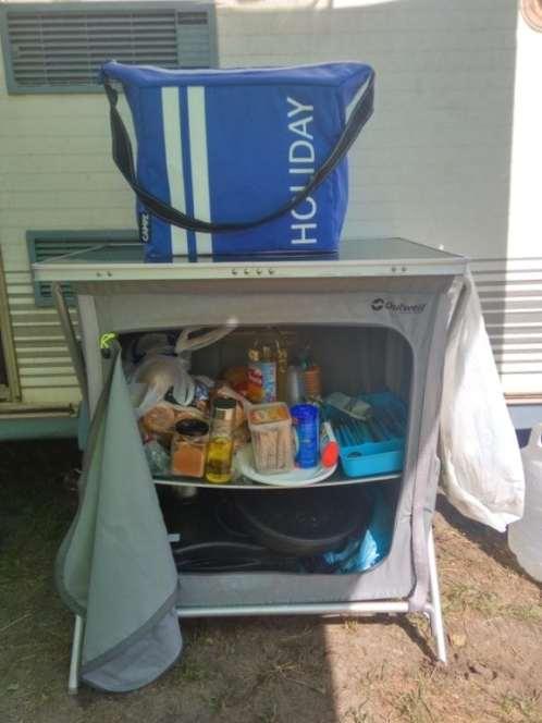 Mueble cocina y nevera de camping CAMPZ