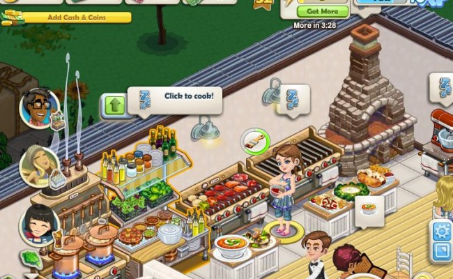 Chefville A Complex But Tasty Treat On Facebook Aol Games