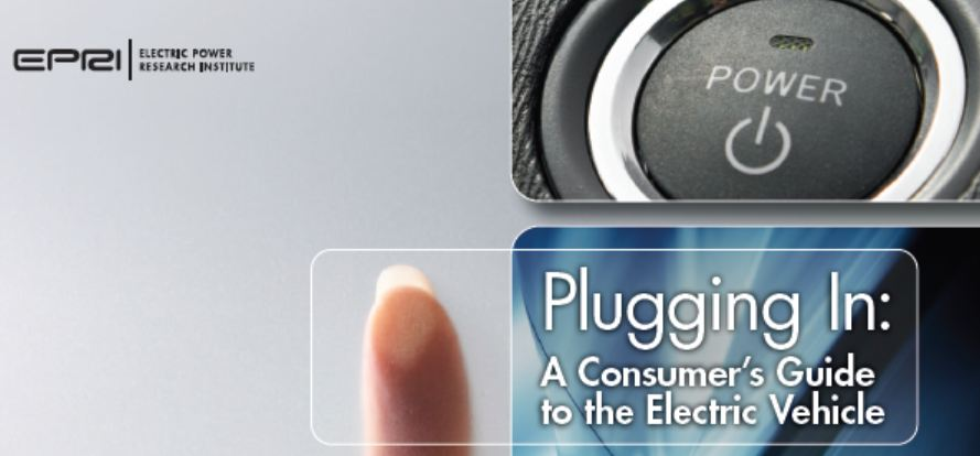 EPRI consumer's guide for electric vehicles