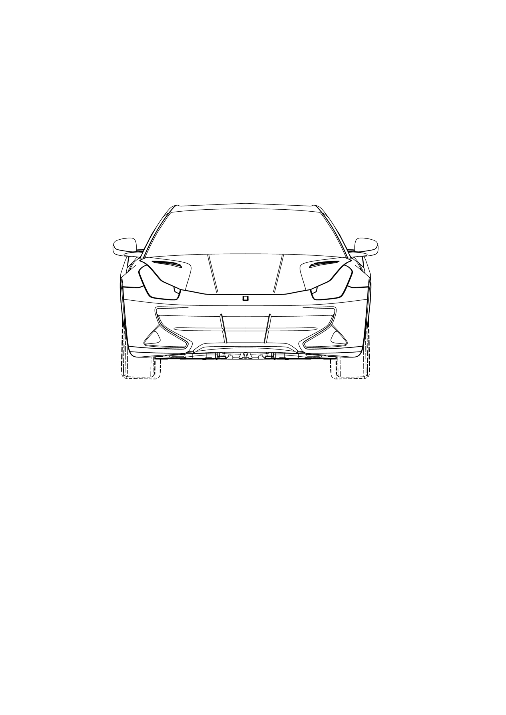 Ferrari Ff Coupe Patent Drawings Photo Gallery