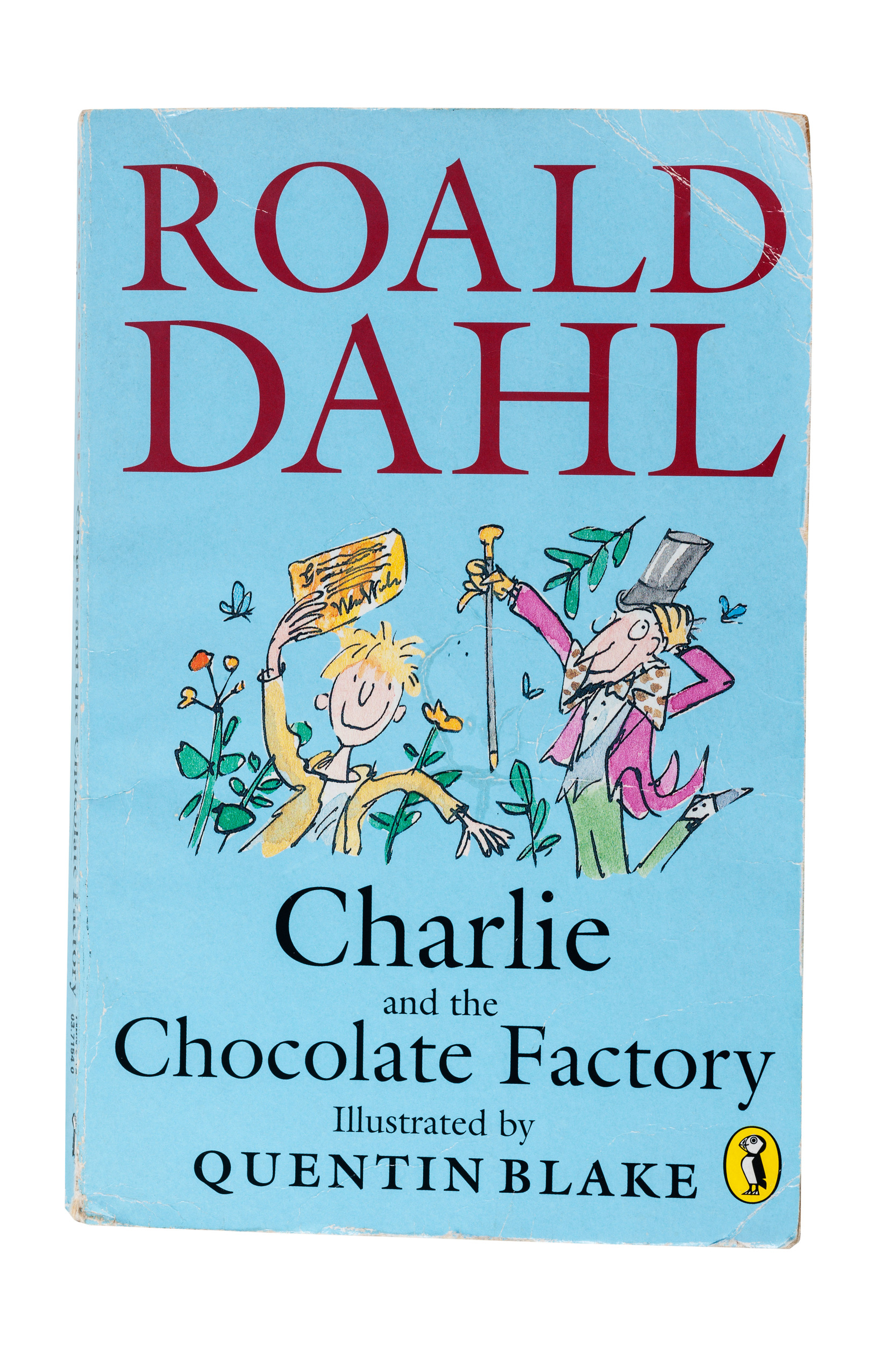 Charlie And The Chocolate Factory Gets A Creepy New Cover