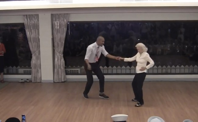 90 Year Old Shows Off Incredible Dance Moves Aol News