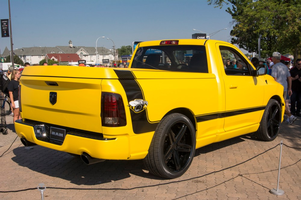 medium resolution of ram 1500 rumble bee concept live images aug 17 2013 photo gallery autoblog