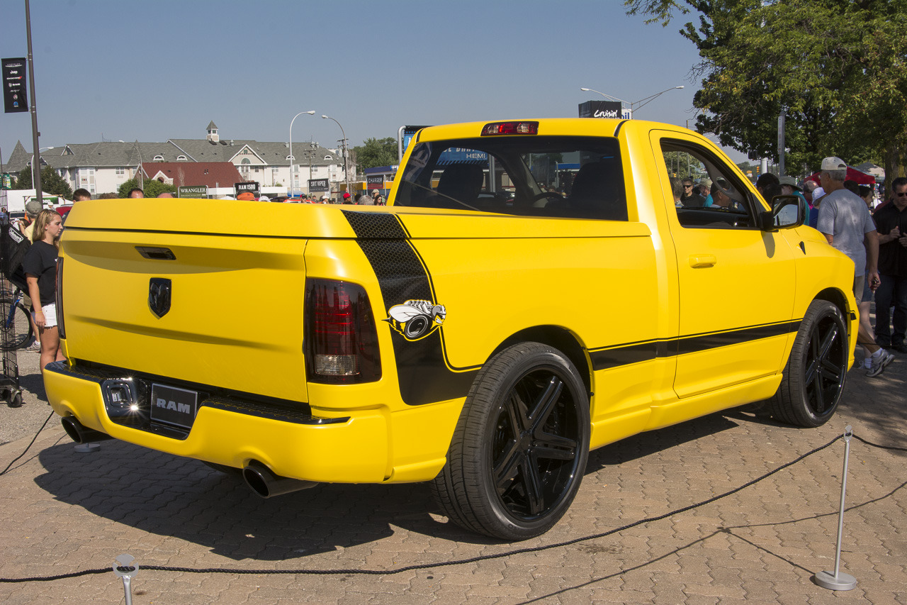 hight resolution of ram 1500 rumble bee concept live images aug 17 2013 photo gallery autoblog