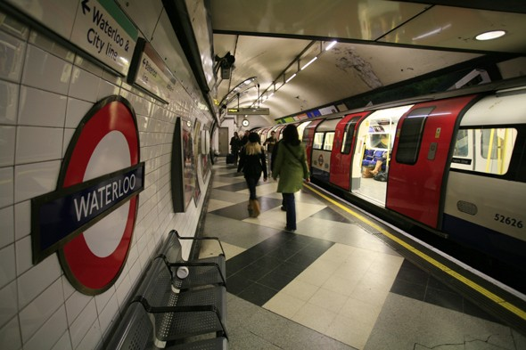The Tube or Underground carrying Londoners from one of the city to another