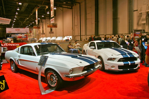 1967 Shelby GT500 + 2010 Shelby GT500