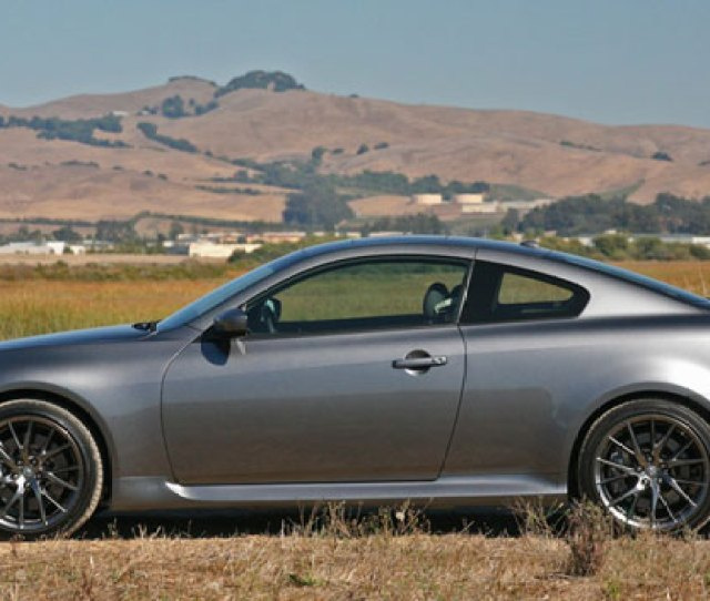 Infiniti Ipl G Coupe Side View