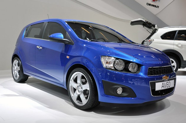 New Aveo at Paris: click to view more photos on Autoblog.com