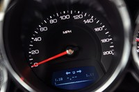 2011 Cadillac CTS-V Coupe speedometer