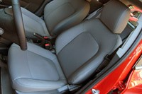 2012 Chevrolet Sonic front seats