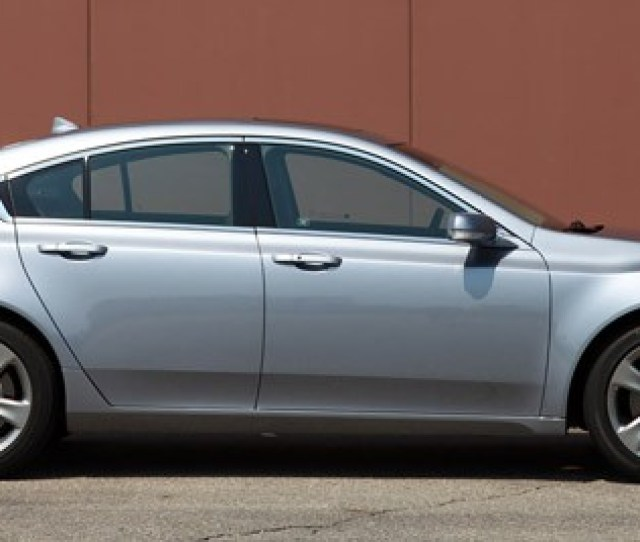 2012 Acura Tl Sh Awd Side View