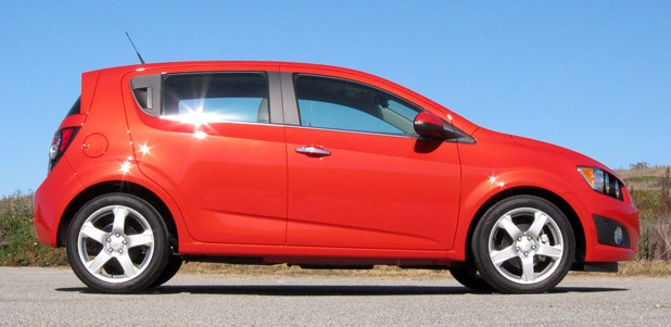2012 Chevrolet Sonic side view