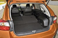 2013 Subaru XV Crosstrek rear cargo area