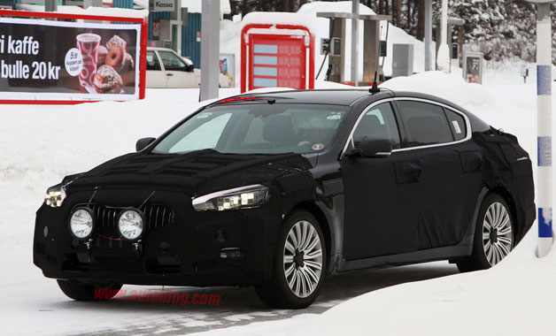 Kia K9 Spy Shots