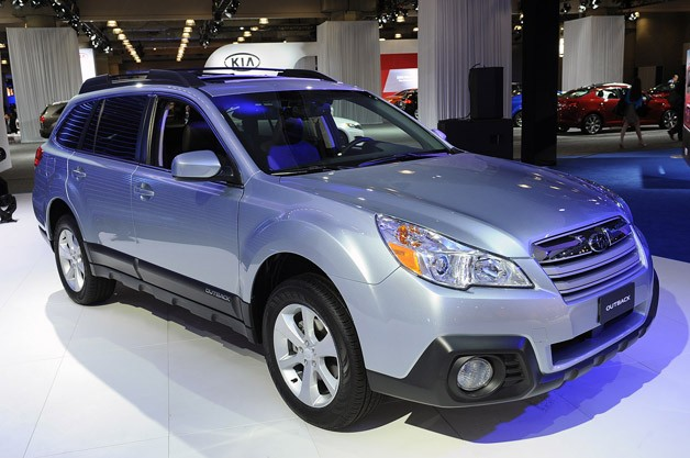 2013 Subaru Outback debuts live in New York