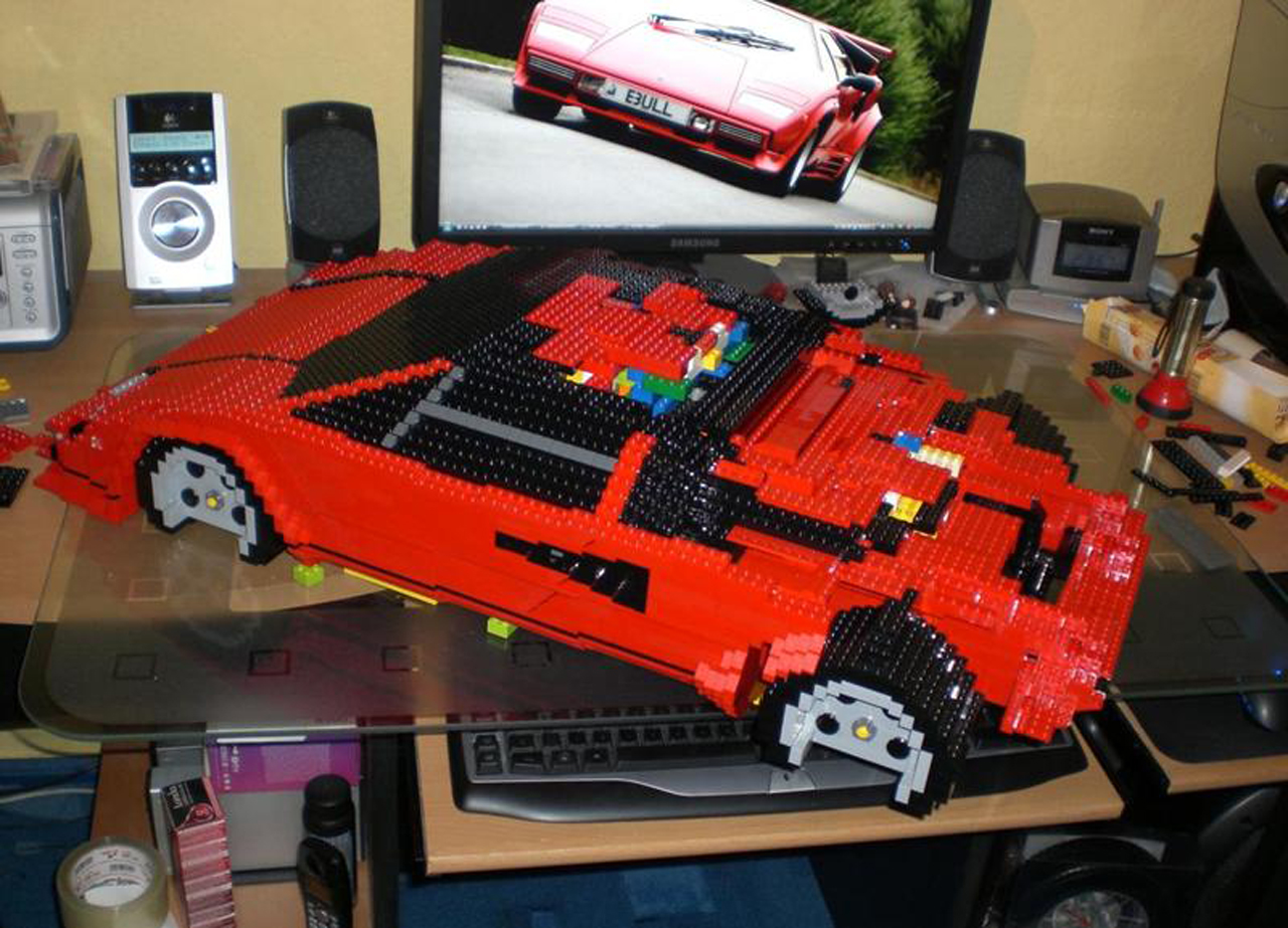 Deadmau5 Car Wallpaper Lego Lamborghini Countach Photo Gallery Autoblog