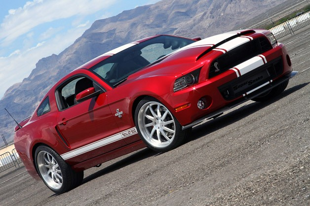 2013 Shelby GT500 Super Snake - front three-quarter view, tilted