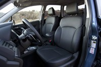 2014 Subaru Forester XT front seats