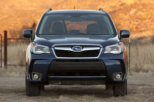 2014 Subaru Forester XT front view