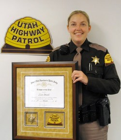 Utah Highway Patrol Corporal Lisa Steed