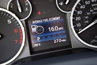 2014 Toyota Tundra fuel economy display