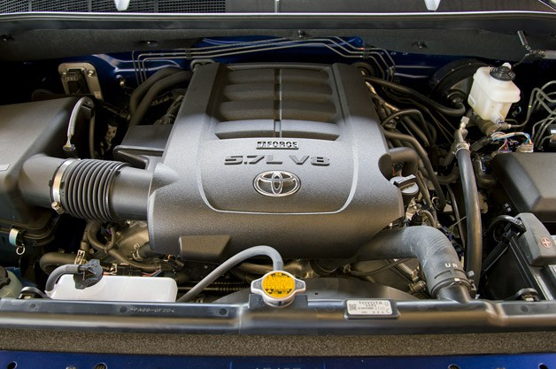 2014 Toyota Tundra engine