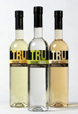 Tru organic vodka comes an array of flavors...maybe not the most holistic stuff to drink...but, everytihng in moderation!