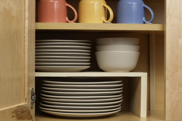 2 easy diy kitchen cabinet organizers | curbly