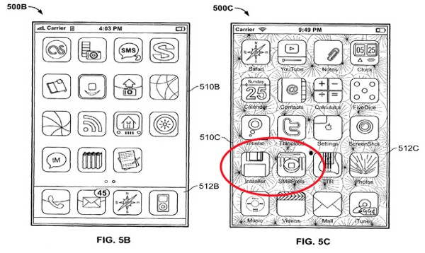 Apple uses a jailbroken iPhone in patent application