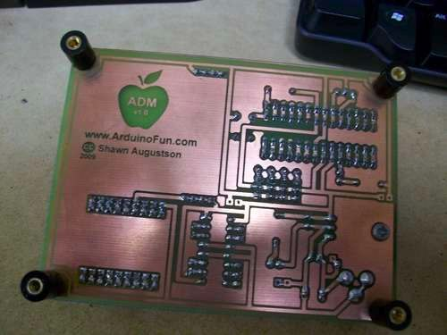 Print Your Own Circuit Boards With An Inkjet And A Modicum Of Skill