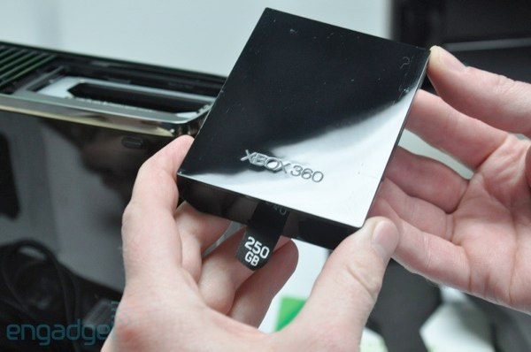 Xbox 360 S 250GB Hard Drive Sneaks Into Stores Microsoft