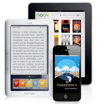 Barnes and Noble's PubIt! is now Nook Press - peoplewhowrite