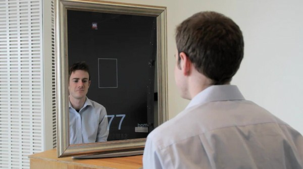 MIT Medical Lab Mirror tells your pulse with a webcam