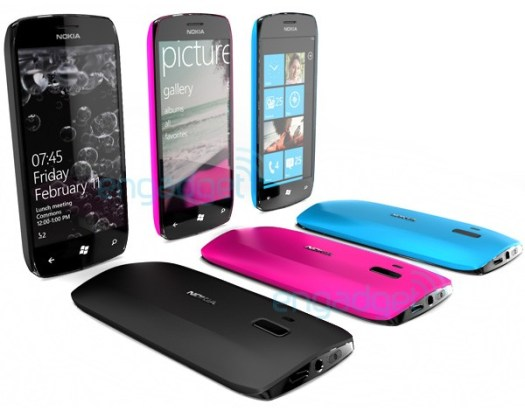 Nokia-Microsoft concept phones