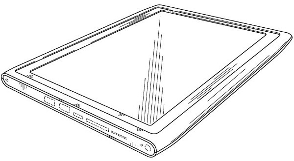 Nokia receives patents for 2 tablet designs