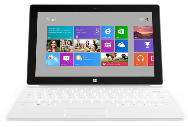 Microsoft Surface tablets the differences between RT and Windows 8 Pro models