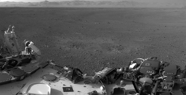 Life on Mars One week of Curiosity