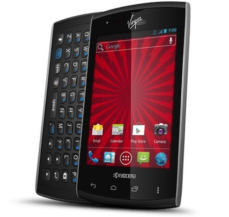 Kyocera Rise arrives on Virgin Mobile with 35inch display, 1GHz CPU and slideout QWERTY keys
