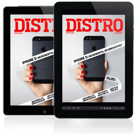 Distro Issue 58 Is the iPhone 5 innovative or incremental
