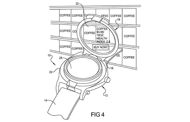 Google patents smartwatch