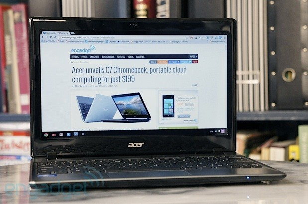Acer C7 Chromebook review Chrome OS on the cheap, but at what cost