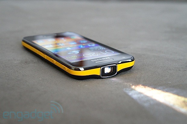 Samsung Galaxy Beam review stay for the projector, but that's it