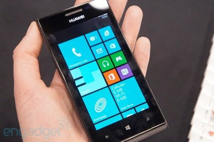 Huawei Ascend W1 handson the company's first Windows Phone 8 device video