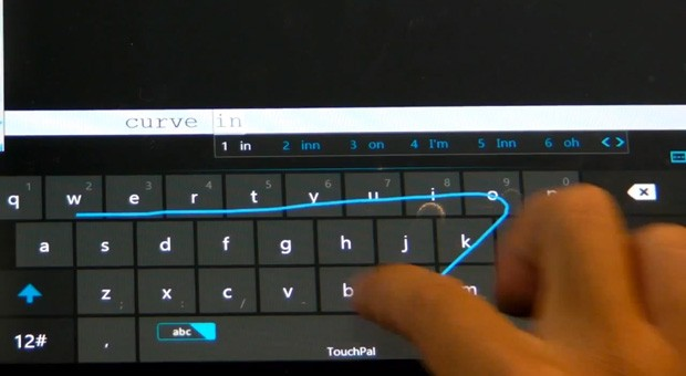 TouchPal Keyboard for Windows 8 ports Swypelike typing to your Surface video