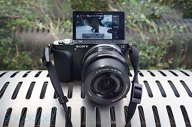 Sony's NEX3N and A58 cameras make an inperson appearance, we go handson